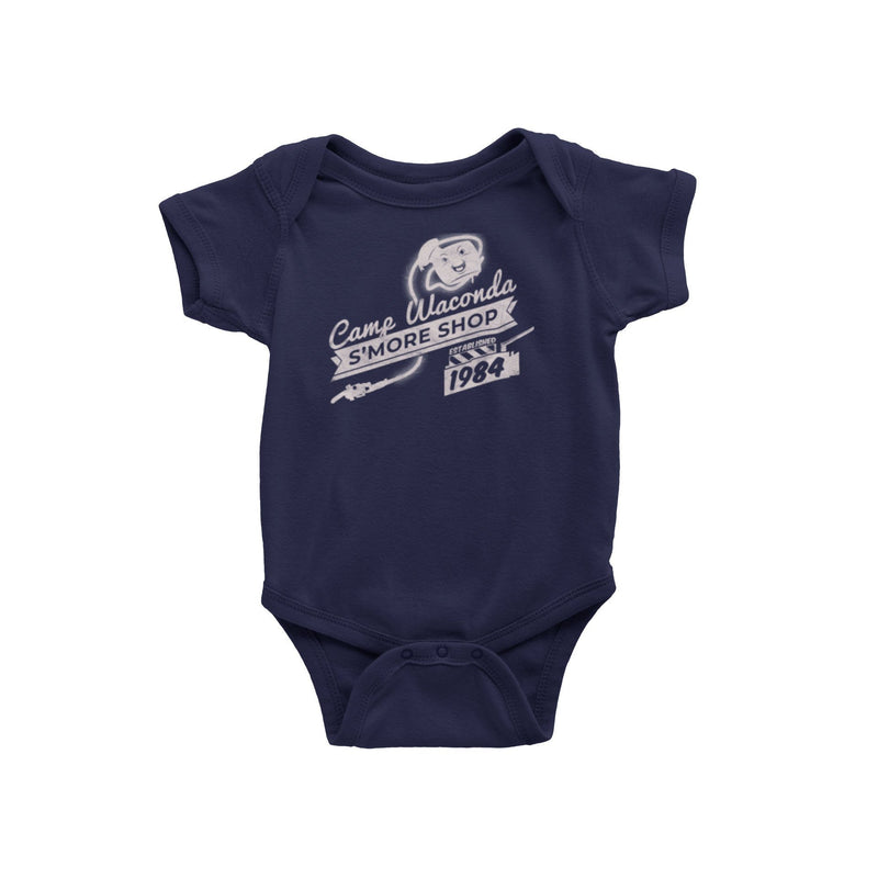 Ghostbusters Stay Puft Marshmallow Man Baby Onesie