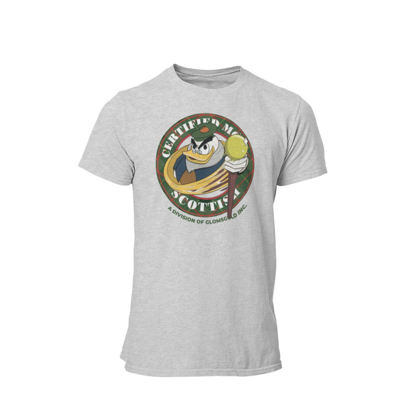 Ducktales Flintheart Glomgold Certified Most Scottish Graphic T-Shirt