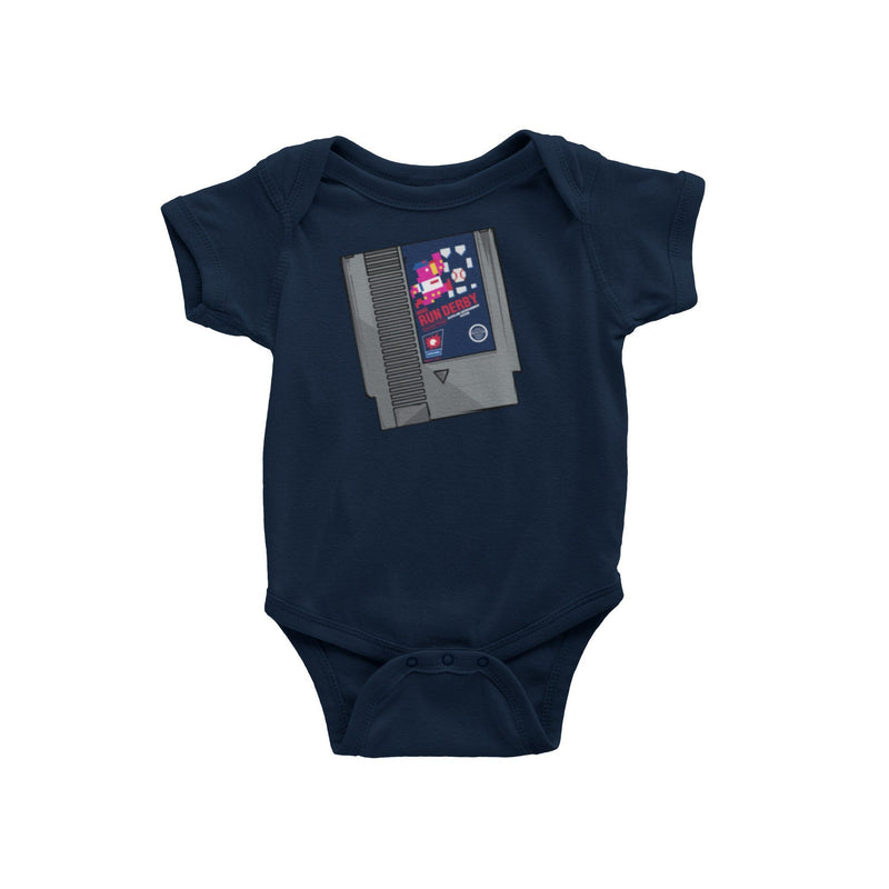 Cleveland Indians Baseball Home Run Derby Slider Baby Onesie
