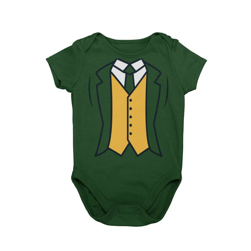 Notre Dame Leprechaun College Football Baby Character Costume Cosplay Halloween Costume Onesie