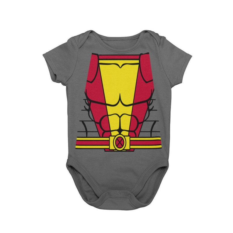 X-Men Colossus Baby Character Cosplay Costume Onesie