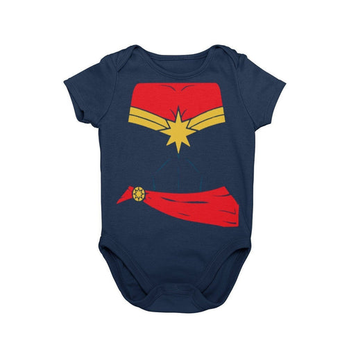 Captain Marvel Carol Danvers Comic Character Cosplay Halloween Costume Onesie