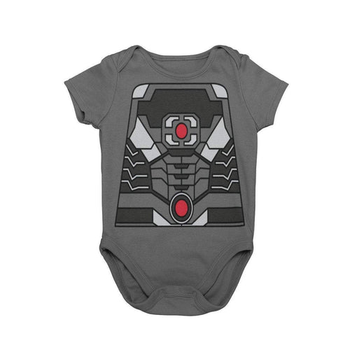 Justice League Cyborg Superhero Baby Character Cosplay Halloween Costume