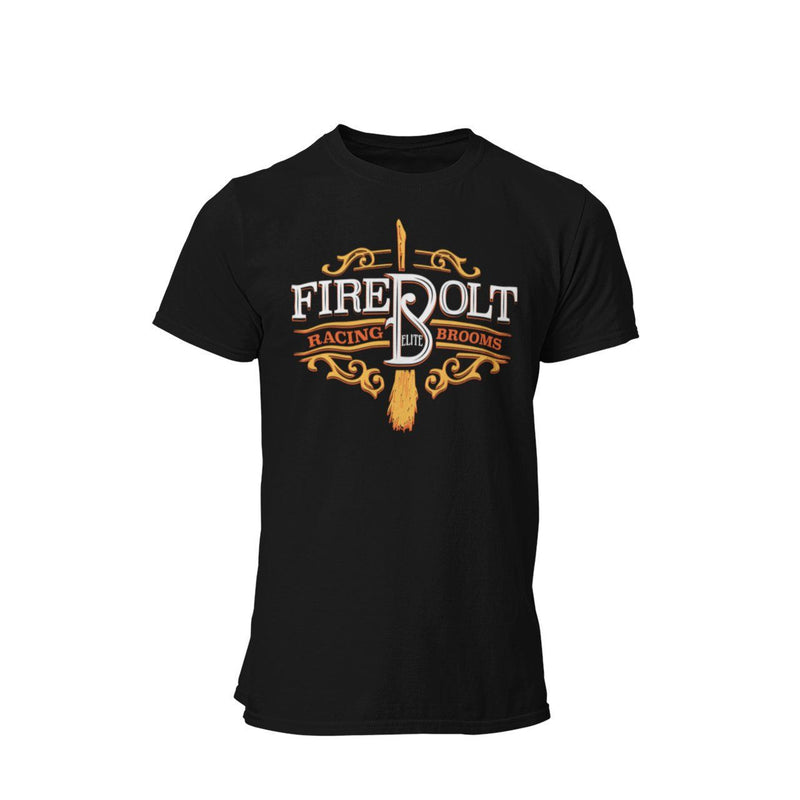 Harry Potter Quidditch Fire Bolt Racing Brooms Universal Studios Wizarding World Graphic T-Shirt