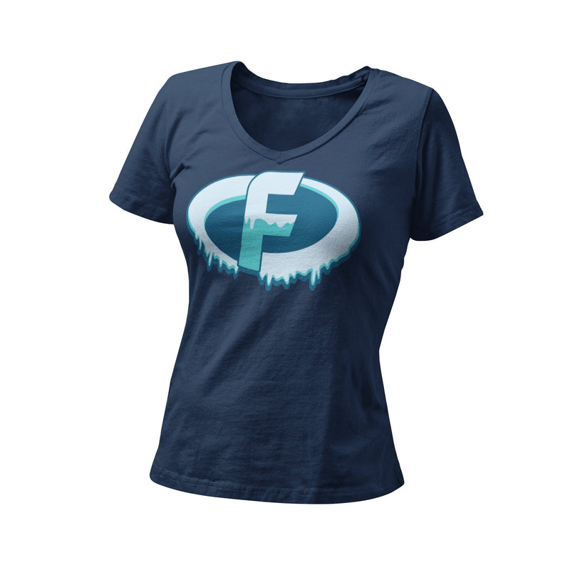 Incredibles Frozone WDW Disney Vacation Women's Fitted Graphic T-Shirt
