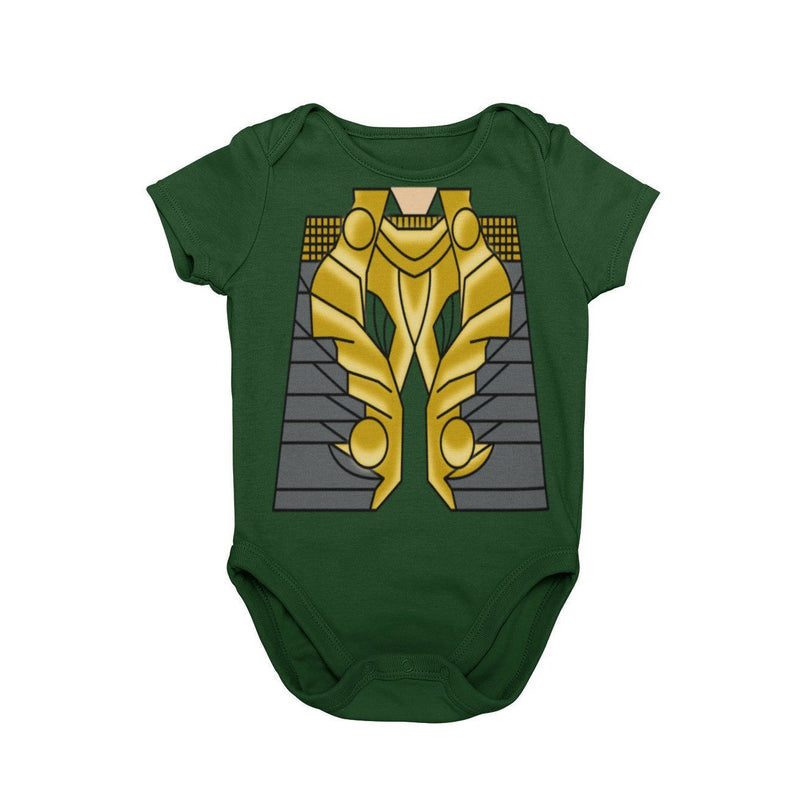 Loki god of mischief Marvel Avengers Thor Asgard Disney Baby Character Costume Cosplay Halloween Costume Onesie