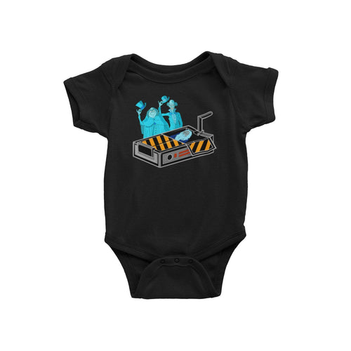 Disney World Disneyland Haunted Mansion Ghostbusters Ghost Trap Baby Onesie Bodysuit