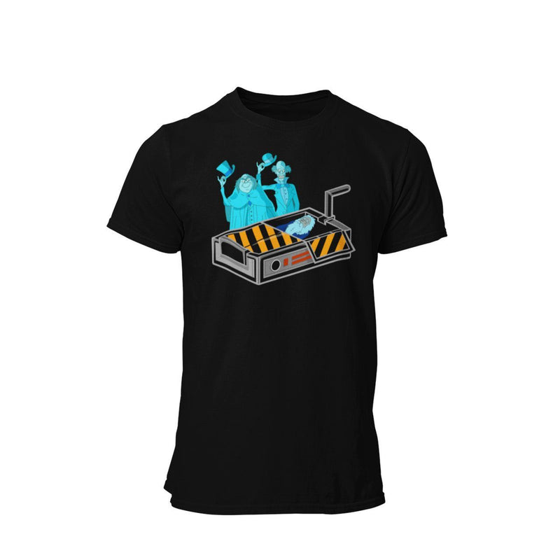 Haunted Mansion Hitch Hiking Ghosts Disney WDW Vacation Ghostbuster Graphic T-Shirt