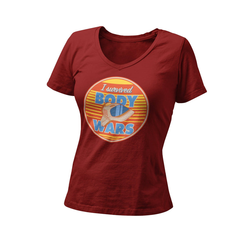 Wonder Pavilion WDW Disney Vacation I Survived Body Wars Retro Epcot Women's Graphic T-Shirt