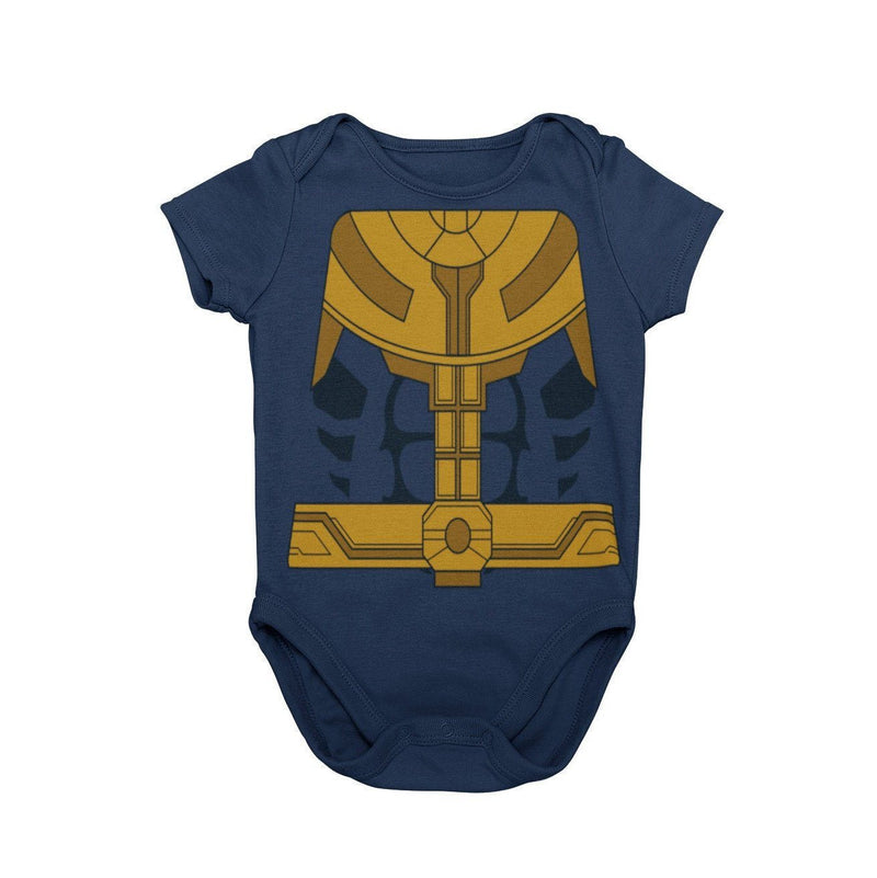 Thanos Avengers Endgame Marvel The Snap Disney Baby Character Costume Cosplay Halloween Costume Onesie