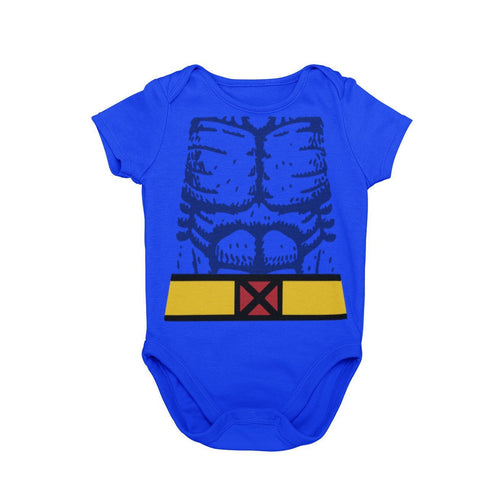 X-Men Beast Mutant Baby Character Cosplay Halloween Costume Onesie