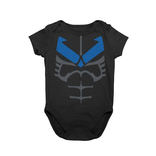 Night Wing Batman Hero Baby Characer Halloween Cosplay Costume Onesie