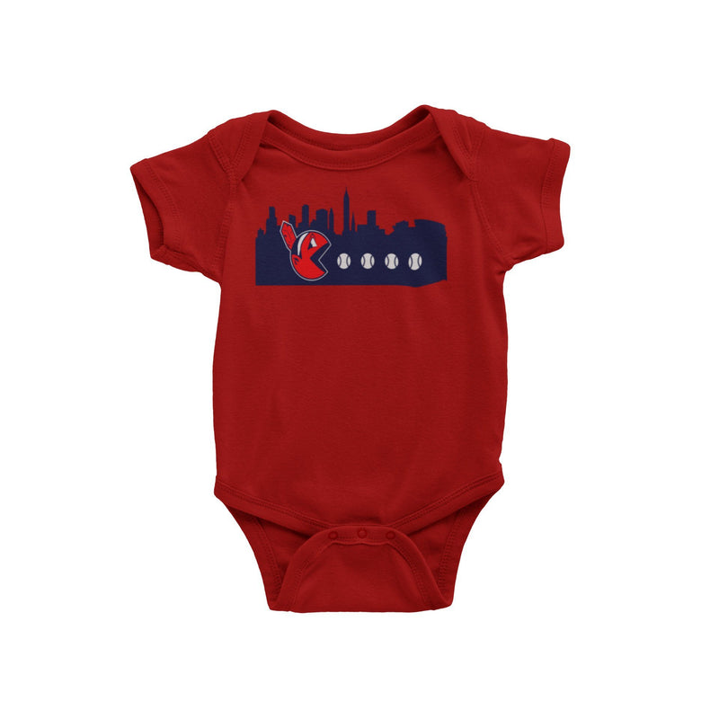Cleveland Indians Baseball Chief Wahoo Pac Baby Onesie