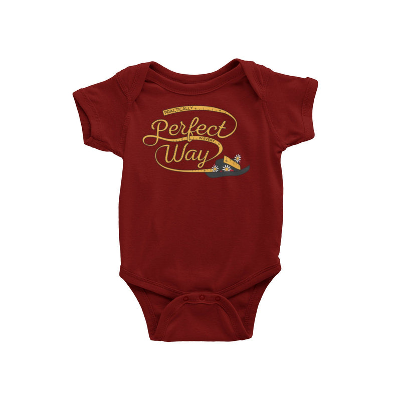 Mary Poppins Practically Perfect In Every Way Disney Baby Onesie Mary Poppins Returns