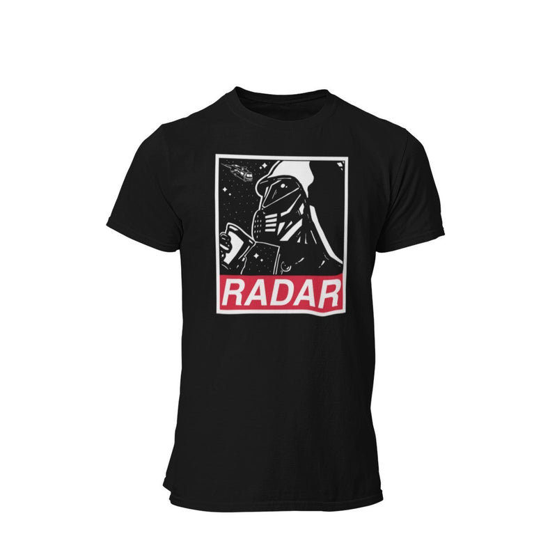 Space Ball Lord Helmet Radar Coffee Graphic T-Shirt
