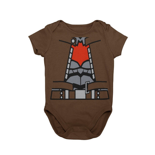Batman Red Hood Baby Character Cosplay Halloween Costume Onesie