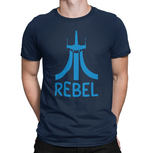Retro Level Rebel Unisex Shirt | Unique Comic Con X Star Fighter Graphic T-Shirt | Orlando Florida Theme Park Vacation | Resistance Graphic