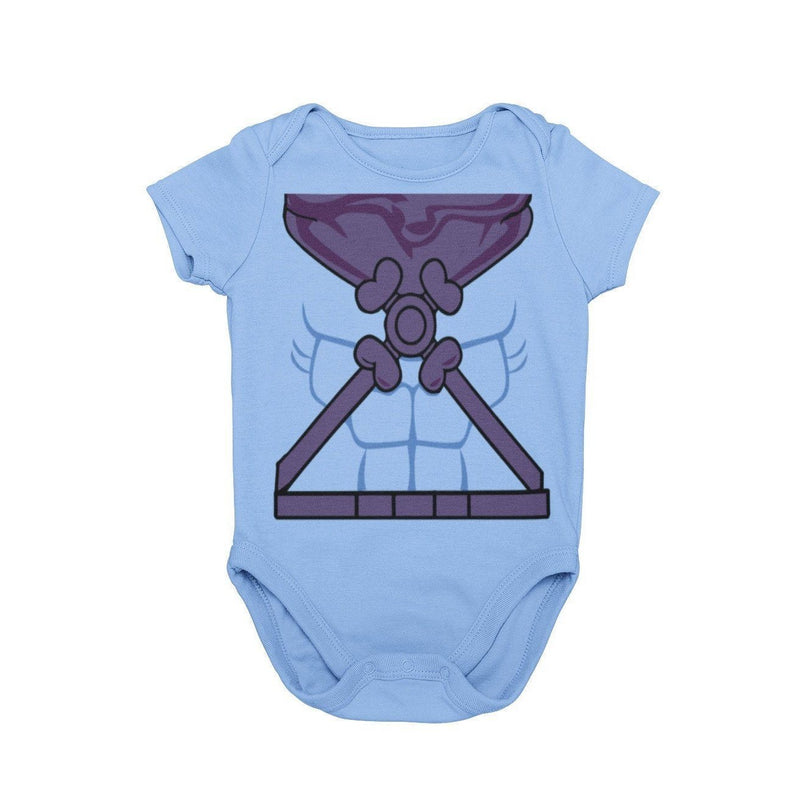 Skeletor SheRa HeMan Masters of the Universe Saturday Morning Cartoons 80s Villain Baby Character Costume Cosplay Halloween Costume Onesie