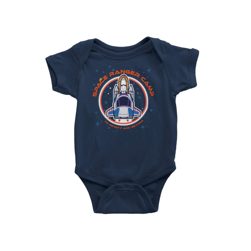 Space Ranger Camp Baby Romper | Space Ranger Camp Graphic Onepiece | Space Ranger Bodysuit | Buzz Baby Romper | WDW Family Vacation Romper