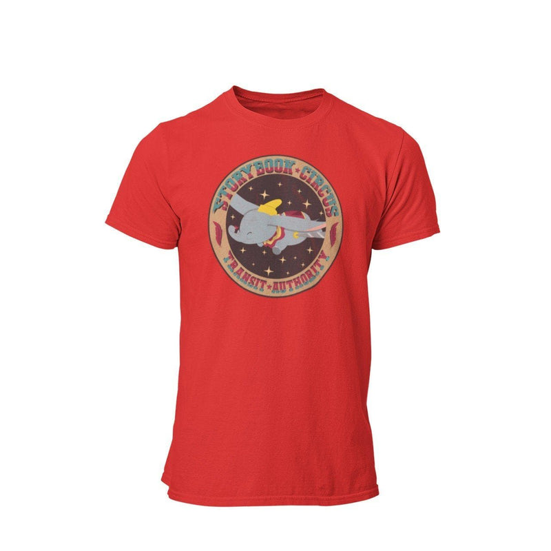 Dumbo WDW Disney Vacation Storybook Circus Transit Authority Graphic T-Shirt