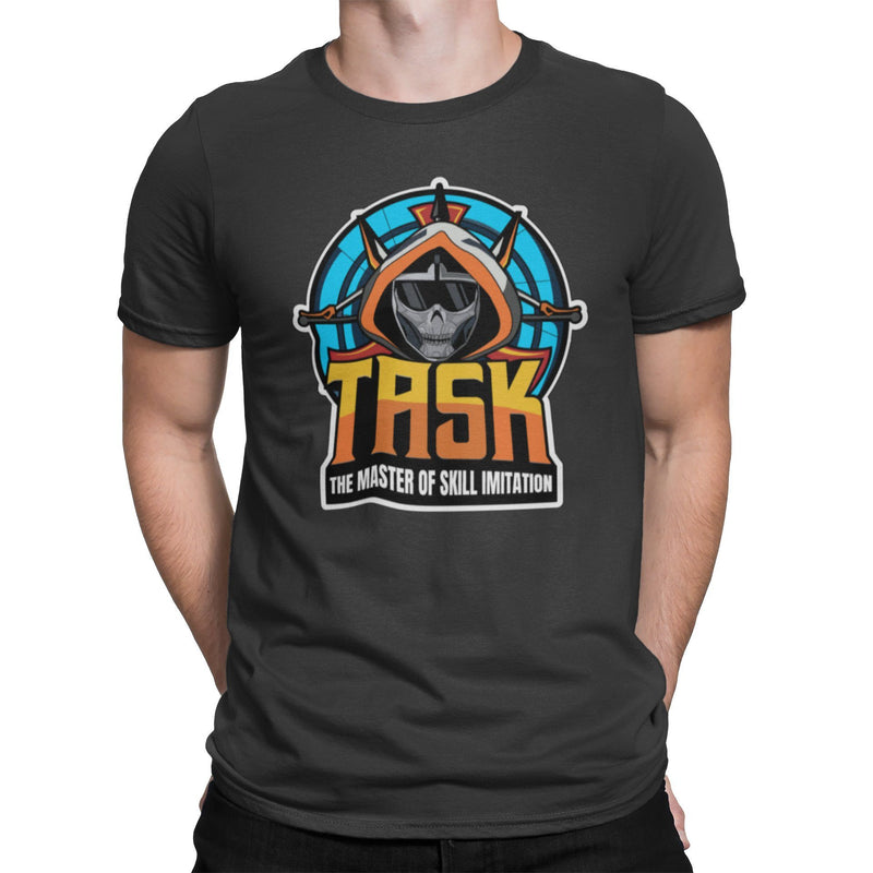 TASK The Master Of Skill Imitation Unisex Shirt | Comic Book Villain Graphic T-Shirt | Saturday Morning Cartoon Widow Parody T-Shirt | Gift