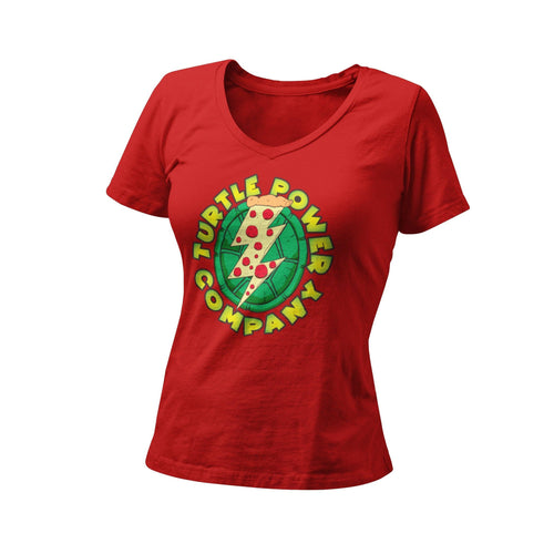 Teenage Mutant Ninja Turtles TMNT Power Company Women's Graphic T-Shirt