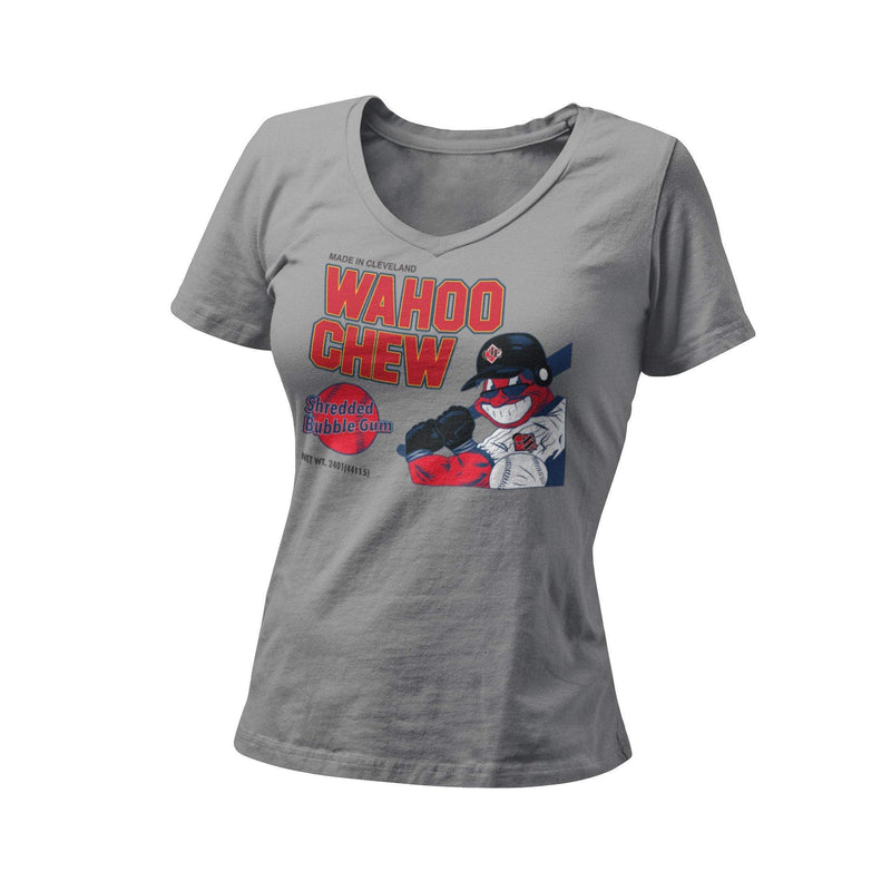 Cleveland Indians Baseball Chief Wahoo Chrew Women's Graphics T-Shirt