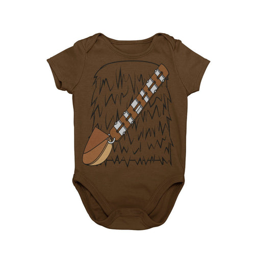 Chewbacca Star Wars Chewy Disney Galaxy's Edge Han Solo Wookie Baby Character Costume Cosplay Halloween Costume Onesie
