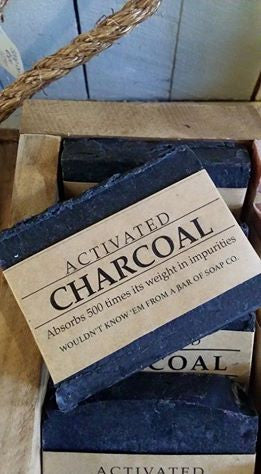 NZ Hand Made Artistic Soap Activated Charcoal Bar 新西兰天然手工艺术皂 活性炭皂