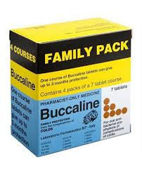 Buccaline Family Pack 防感冒疫苗家庭装