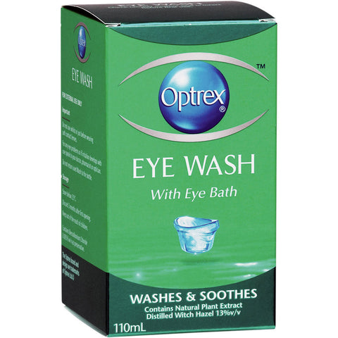 Optrex Eye Wash 110ml 卫生方便型眼部污物清洗液 110毫升