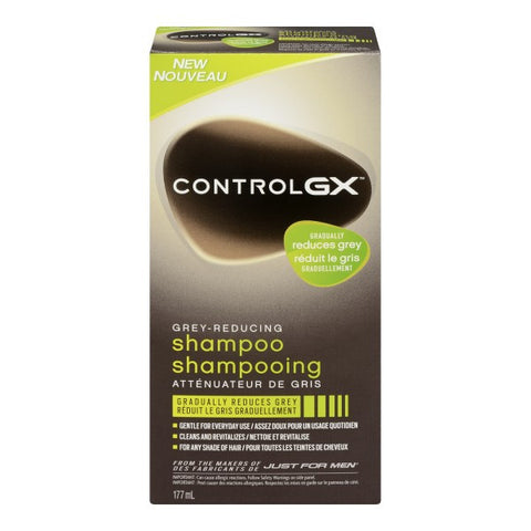 Control GX Grey-Reducing Shampoo, 177ml 灰发变黑洗发香波 177 毫升