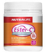 Nutra-life Ester-C® 1000mg with Vitamin D3 + Echinacea chewables 120 Tabs 活性维生素C(1000mg)+ 维生素D3+紫锥花咀嚼片120片