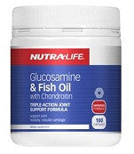 Nutra-life Glucosamine & Fish Oil with Chondroitin 180 Caps