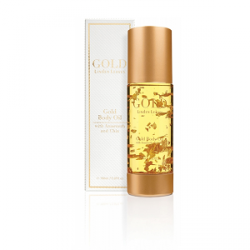 Linden Leaves GOLD Body Oil 150ml 天然有机植物23K金箔抗衰身体精油150毫升