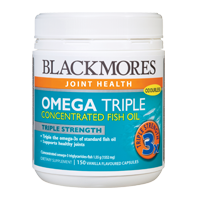 Blackmores Omega Triple Caps 澳佳宝高三倍濃度深海魚油 150粒