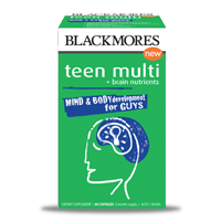 Blackmores Teen Multi for Guys 澳佳宝少年维生素 60粒