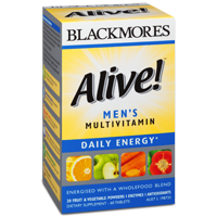 Blackmores Alive! Men's Multivitamin 澳佳宝男士复合维生素60粒