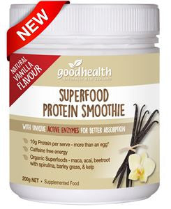 Good Health Superfood Protein Smoothie with Natural Vanilla Flavour减重蛋白质奶昔粉香草味 200克