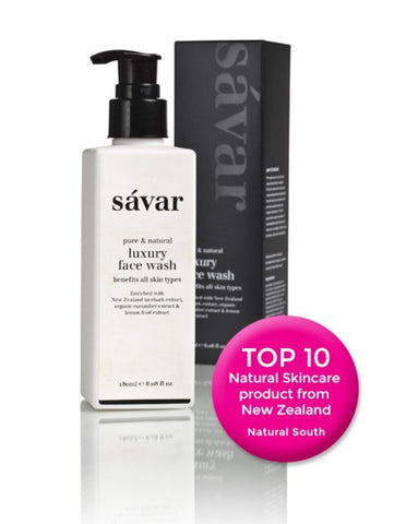 Savar Natural Luxary Face Wash 天然奢华洁面乳 180ml