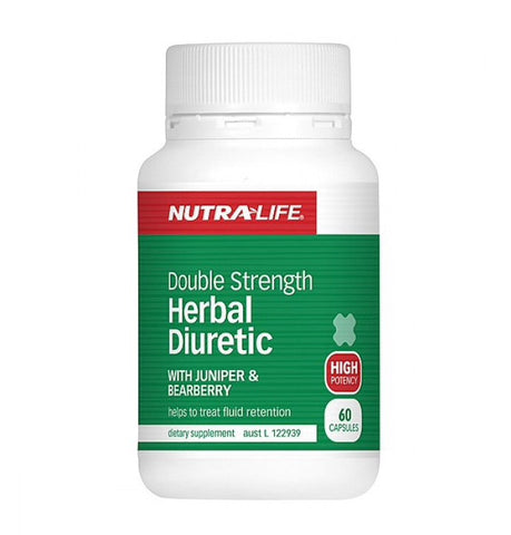 Nutra-life Double Strength Herbal Diuretic 60 Caps 草本利肾脏保护胶囊60粒