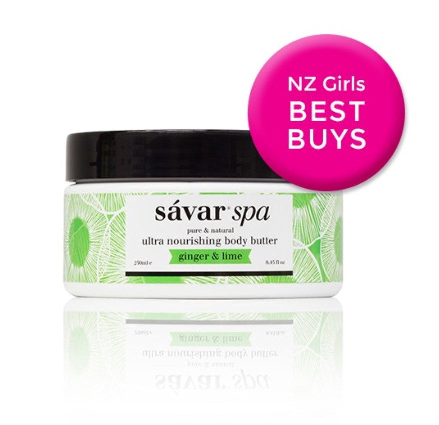 Savar Ultra Nourishing Body Butter - PACIFIC COCONUT 天然生姜和柠檬身体润肤乳 250ml