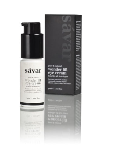Savar Natural Wonder Lift Eye Cream 天然特效紧致提升眼霜 30ml
