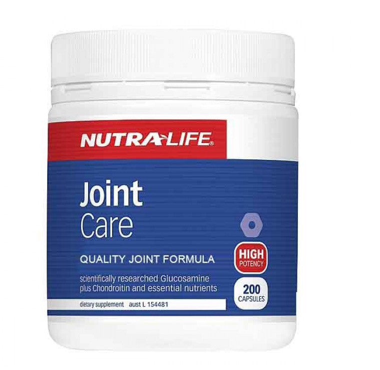 Nutra-life Joint Care 200 Caps 关节灵胶囊200粒