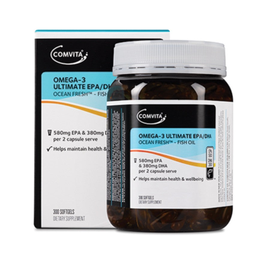 Comvita Omega-3 Ultimate EPA-DHA Softgels 康维他奥米加3 強力EPA-DHA胶囊300粒