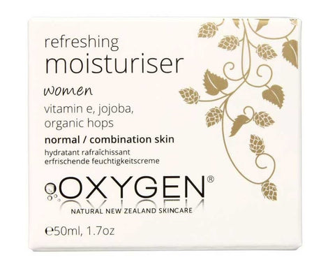 Oxygen Womens Refreshing Moisturiser for normal / combination skin 纯氧酵素焕彩保湿日霜50ml - 适用女士 中性/混合肤质