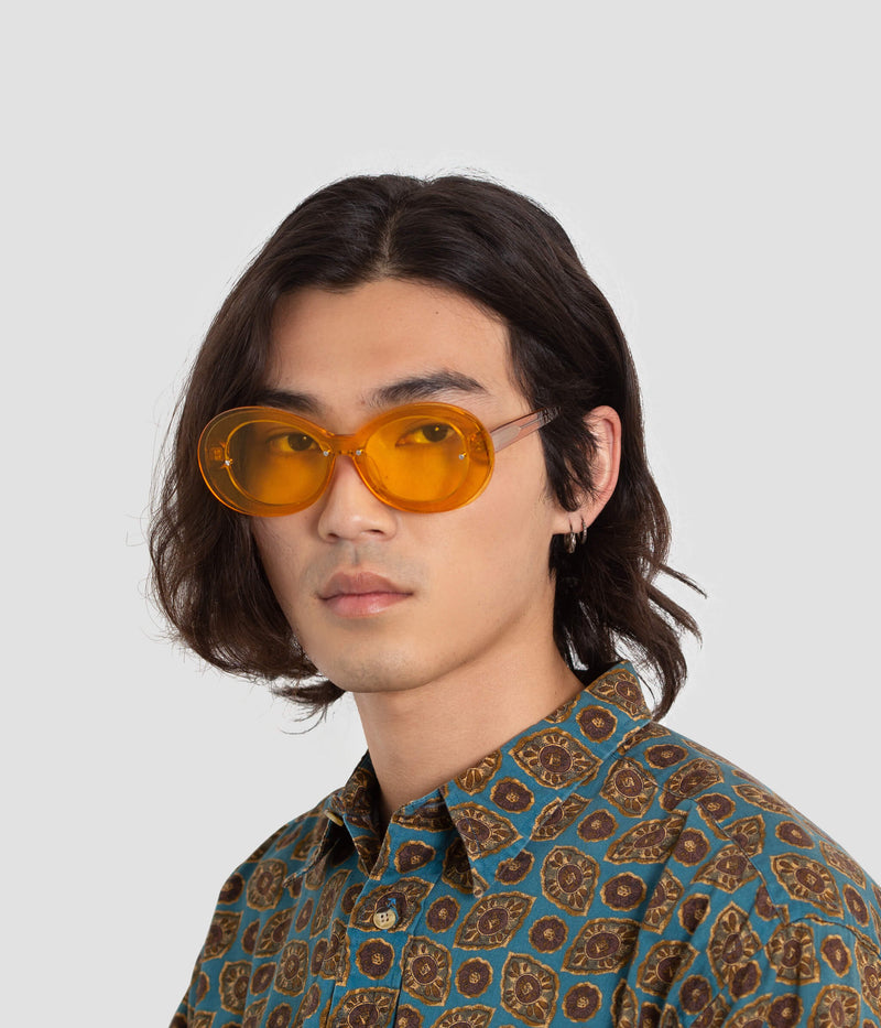 Male Model wearing Ai-Ren Dafodillionaire Sunglasses
