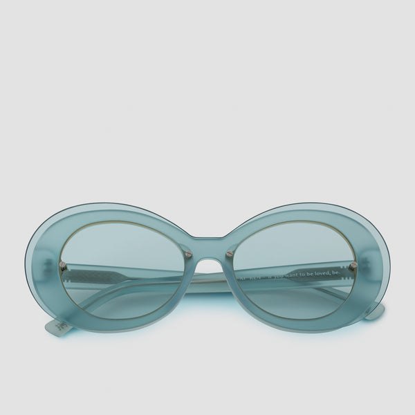 Front View of Ai-Ren Soda Poppy Sunglasses