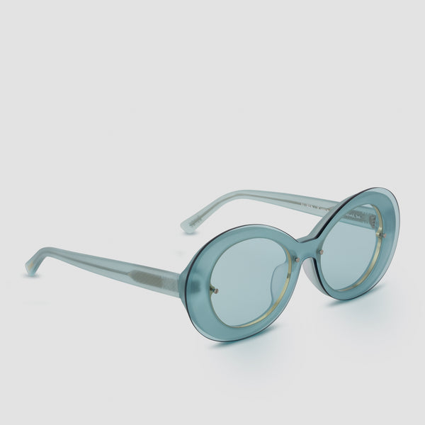 Quarter View of Ai-Ren Soda Poppy Sunglasses