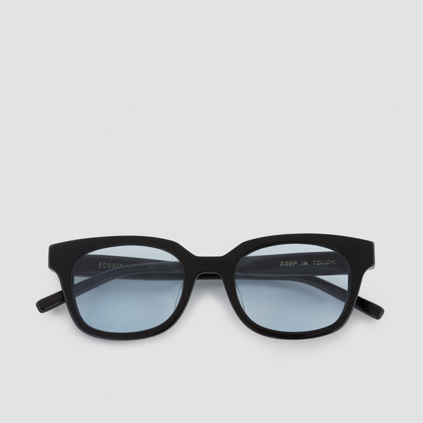 Front View of Chess Club Tian Blue Sunglasses
